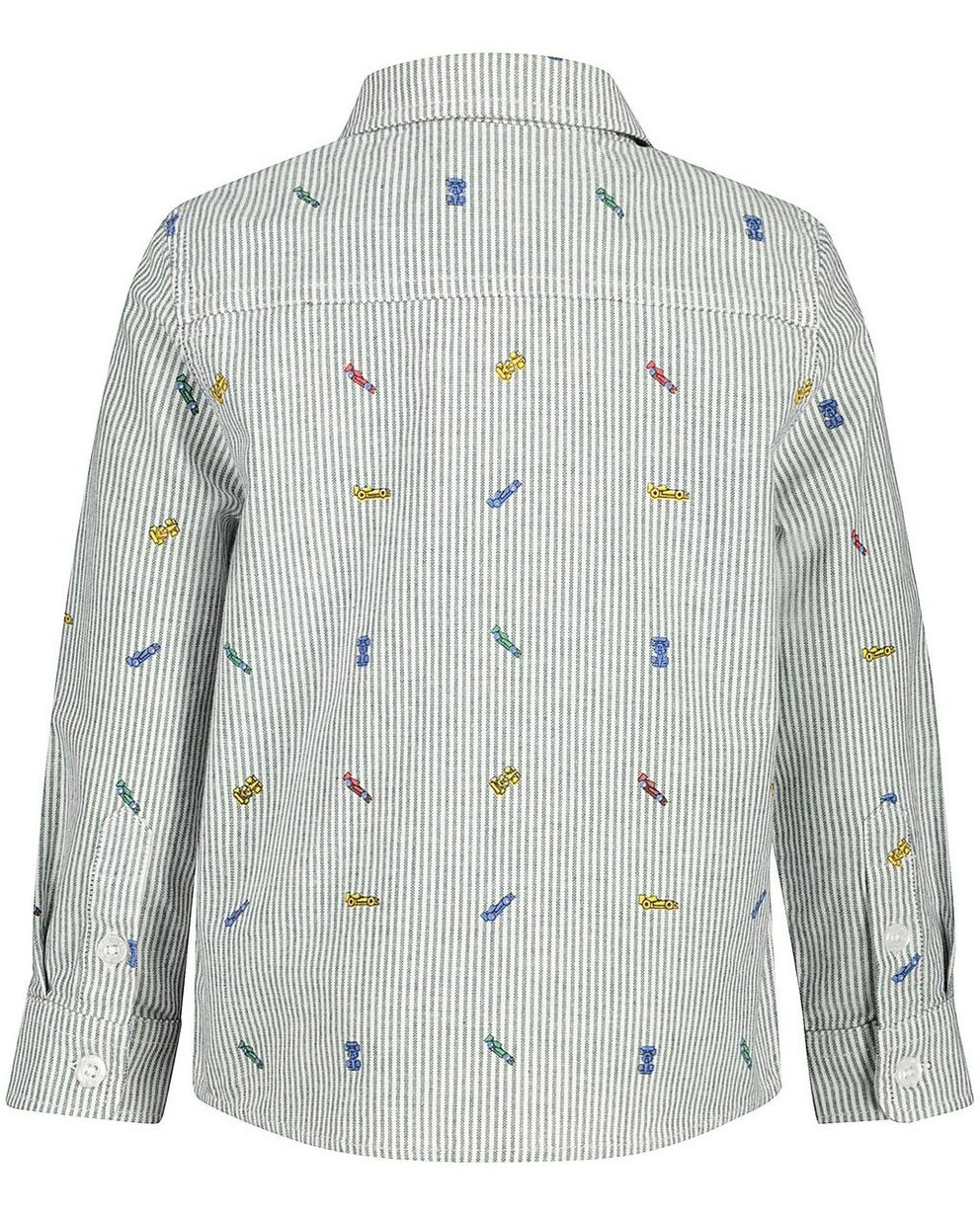 Hemden - AO1 - Gestreiftes Hemd mit Auto-Print